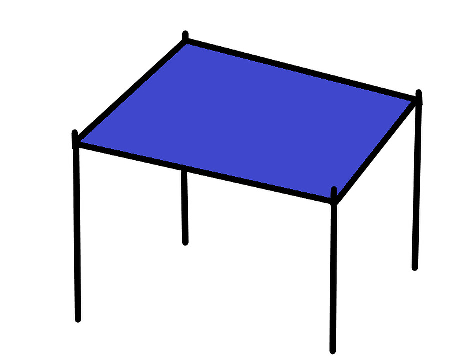 4 x 3 Rectangle Shade Sail Delivered Australia Wide - Image 1
