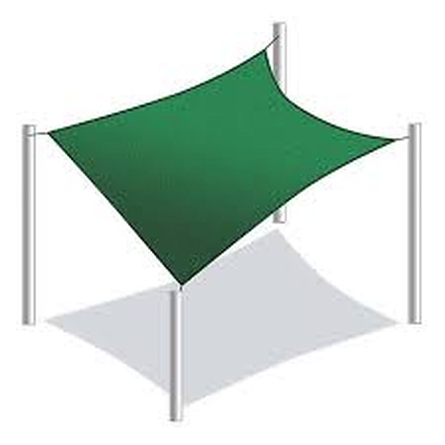 Square 6m x 6m Shade Sail Delivered Australia Wide - Image 1