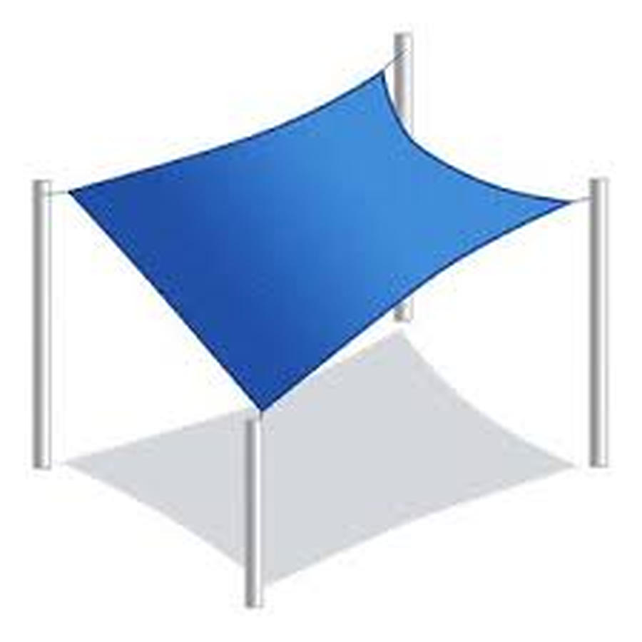 Square 4m x 4m Shade Sail Delivered Australia Wide - Image 1