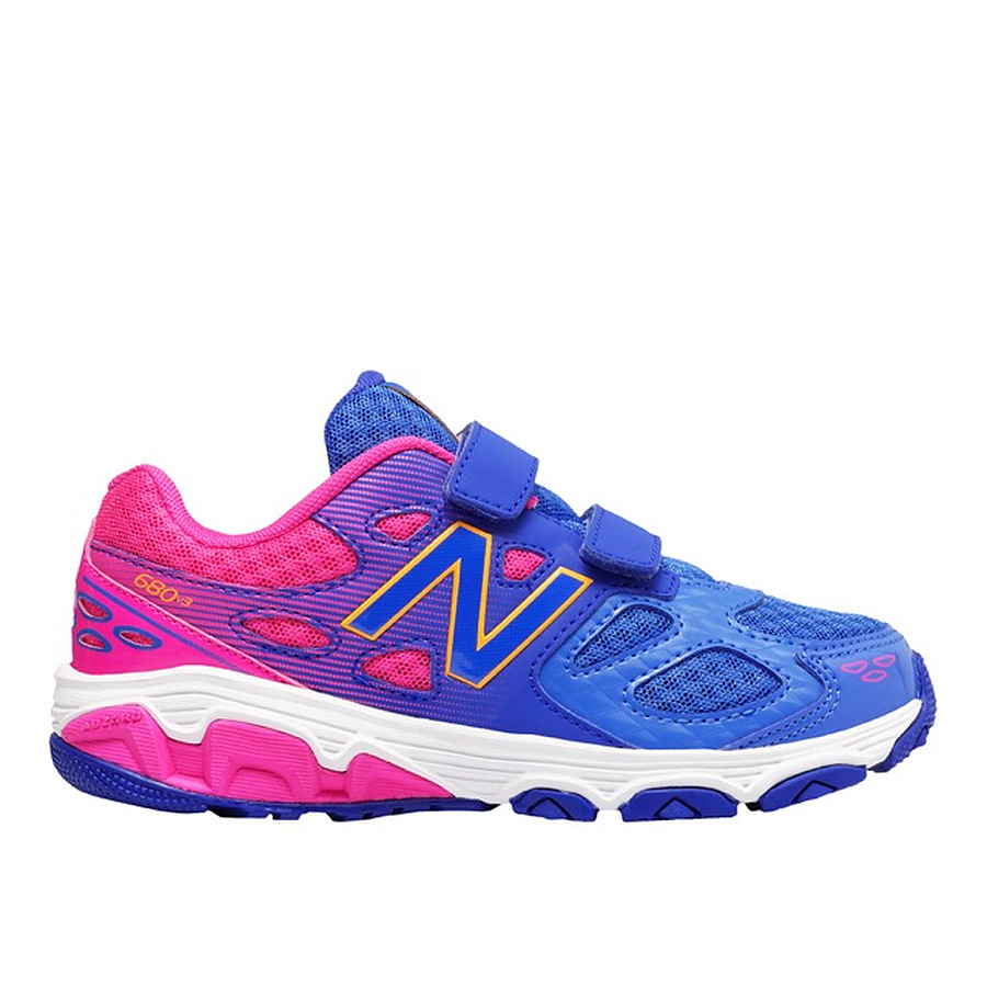 New Balance KV680 Pink and Purple US 11 to 6 youth - Image 1