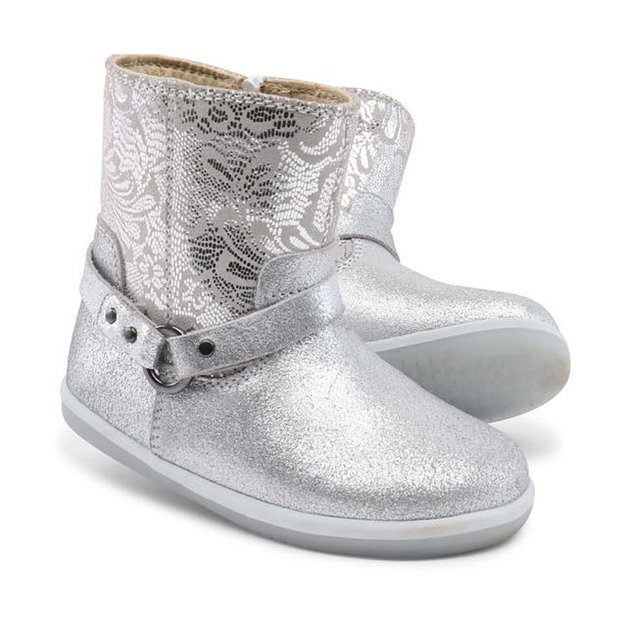 Bobux Quest Boot Silver EU 22 to 26 - Image 1