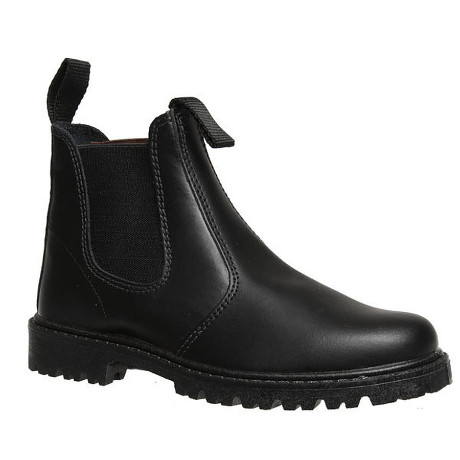 FINAL SALE ITEM Grosby Rustle Black Boy's School Boot UK 12 to 5 youth - Image 1