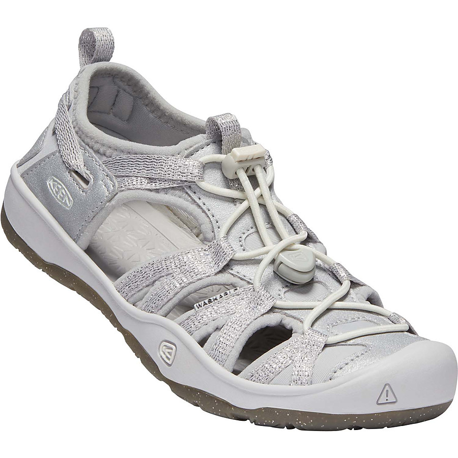 Keen Moxie Sandal Silver US 8 to 6 youth - Image 1