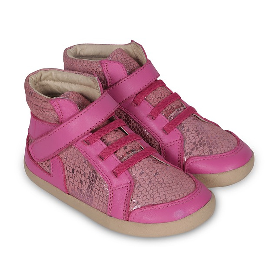 Old Soles Frosty High Top Pink Python EU 22 to 30 - Image 1