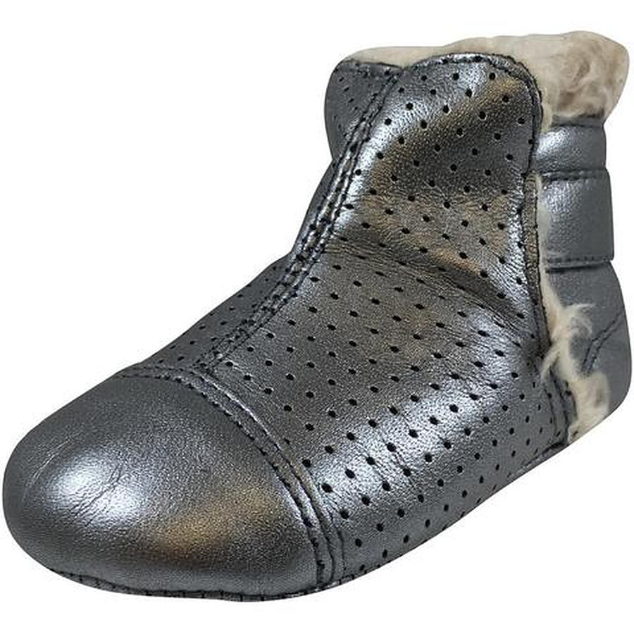 Old Soles Gatsy Boot Rich Silver Eu 17 to 22 - Image 1