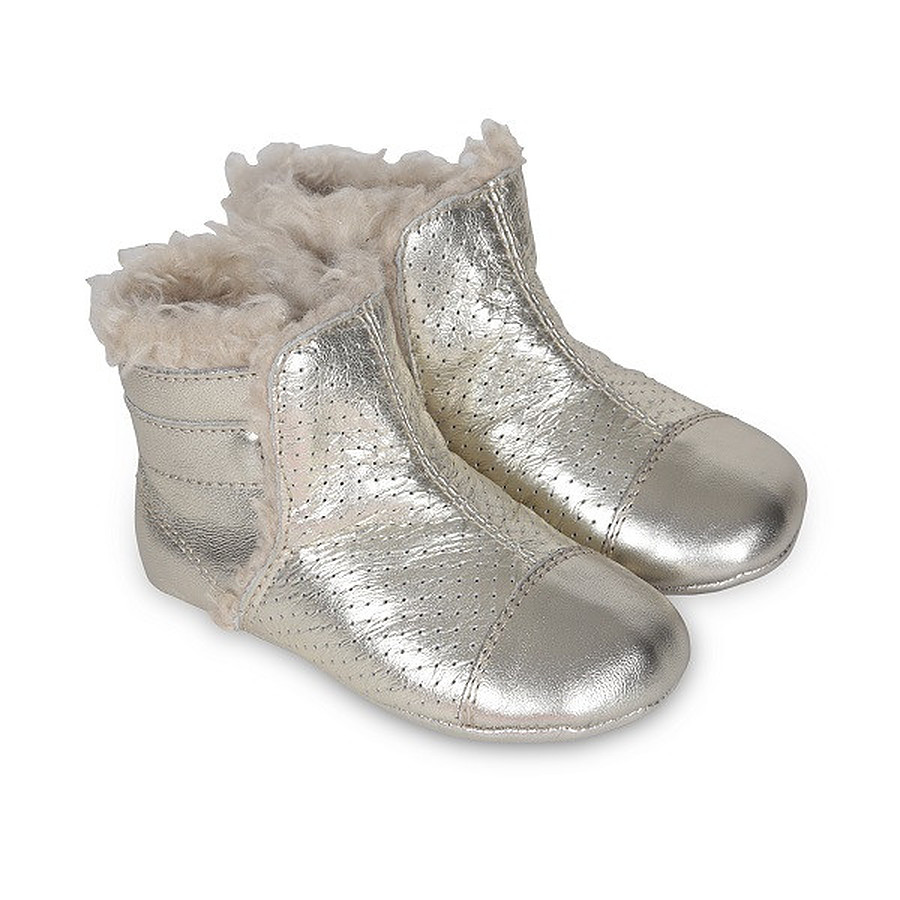 Old Soles Gatsy Boot Silver Eu 17 to 22 - Image 1