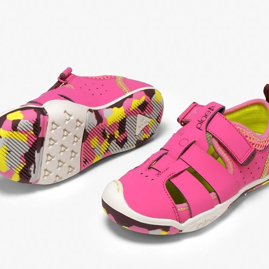 Plae Sam Electric Fuschia US 6 to 3 youth - Image 1