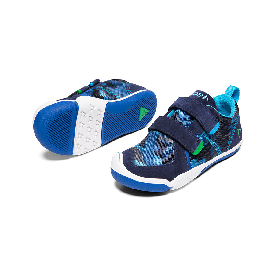 Plae Ty Blue Camo Junior (US 8 to 13.5 youth) - Image 1