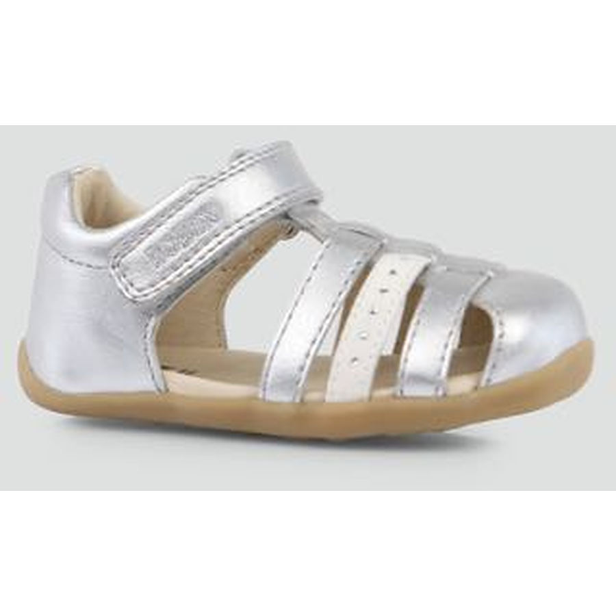 Step Up Silver Jump Sandal - Image 1