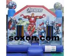 Avengers Theme Bouncing and Jumping Castle Hire