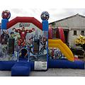 Avengers Side Slide Bouncy Castle