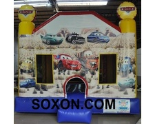 Cars Theme Bouncing and Jumping Castle Hire