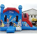 Disney Side Slide Bouncy Castle