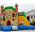 Minions Side Slide Bouncy Castle