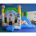 Paw Patrol Side Slide Bouncy Castle