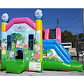 Peppa Pig Side Slide Bouncy Castle