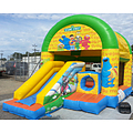 Sesame Street ES Combo Bouncy Castle