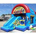 Superheroes ES Combo Bouncy Castle