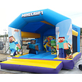 Minecraft E Combo Bouncy Castle