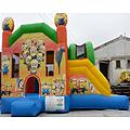 Minions Side Slide Bouncy Castle