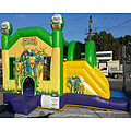 Ninja Turtles Side Slide Bouncy Castle