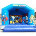 Superheroes E Combo Bouncy Castle