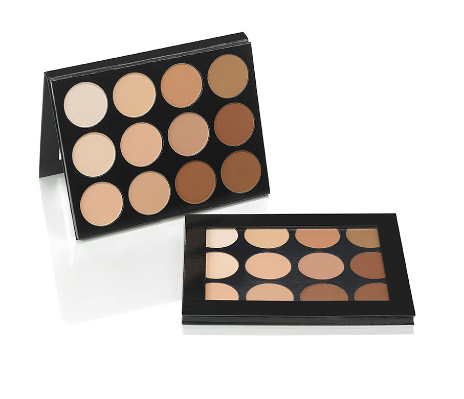 Pressed Powder Contour Highlight Palette