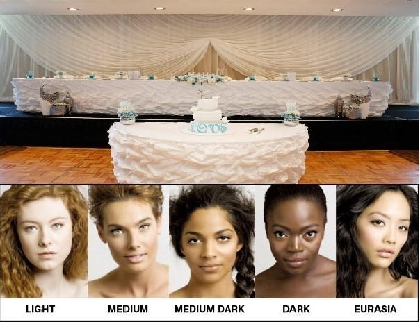 Wedding Makeup and Decor