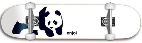 Enjoi Panda Complete Skateboard