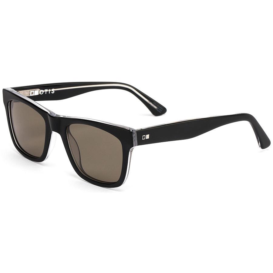 Otis Hawton Satin Black Sunglasses