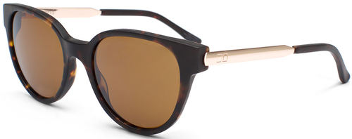 Otis Midnight City Matte Dark Tort Brown Sunglasses