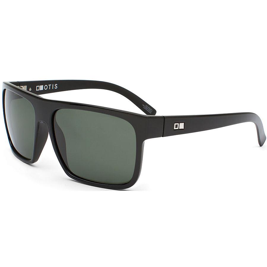 Otis After Dark Matte Black Green Polarised Sunglasses