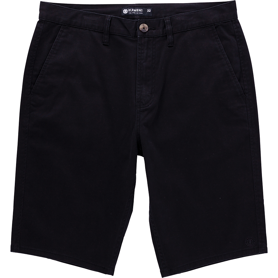 Element Howland Men's Walkshorts Flint Black - Image 1