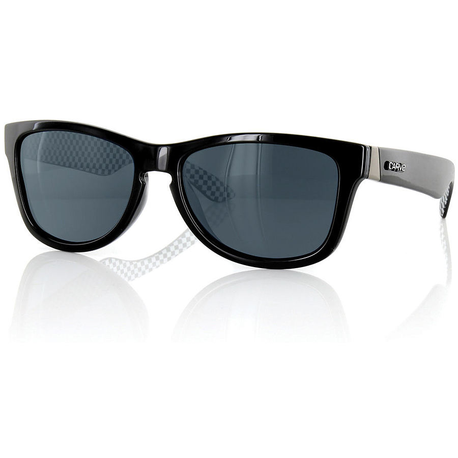 Carve Eyewear One Step Beyond Black Polarised Sunglasses