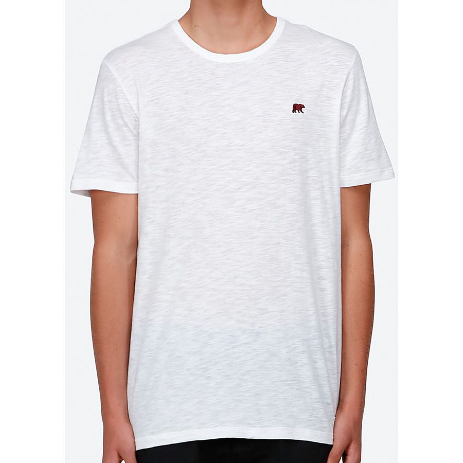 Element Oakland SS Mens Tee Off White