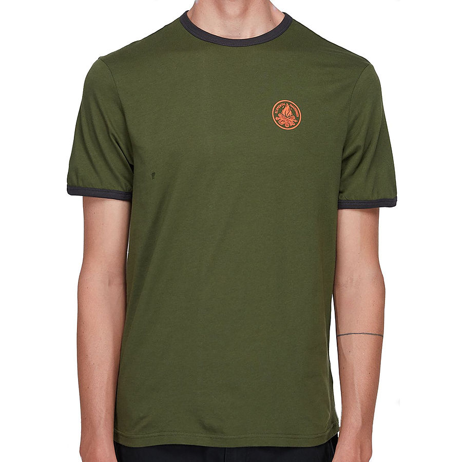 Element EA Ringer SS Mens Tee Rifle Green