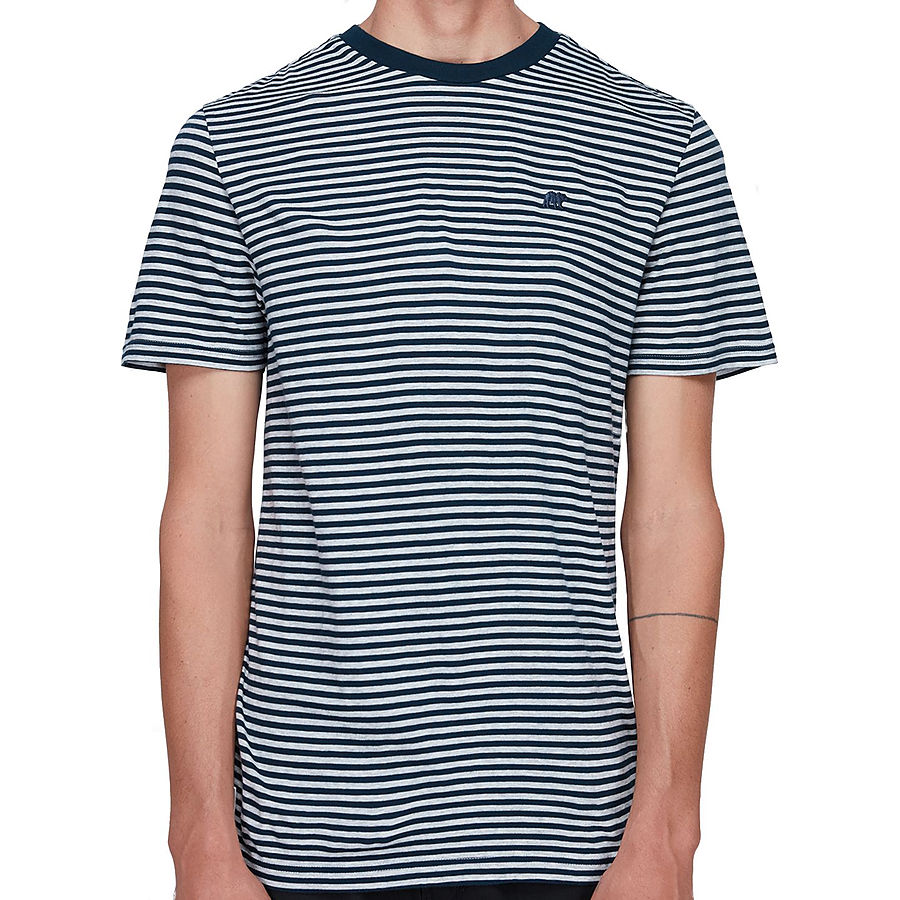 Element Malcolm SS Mens Tee Blue Indigo