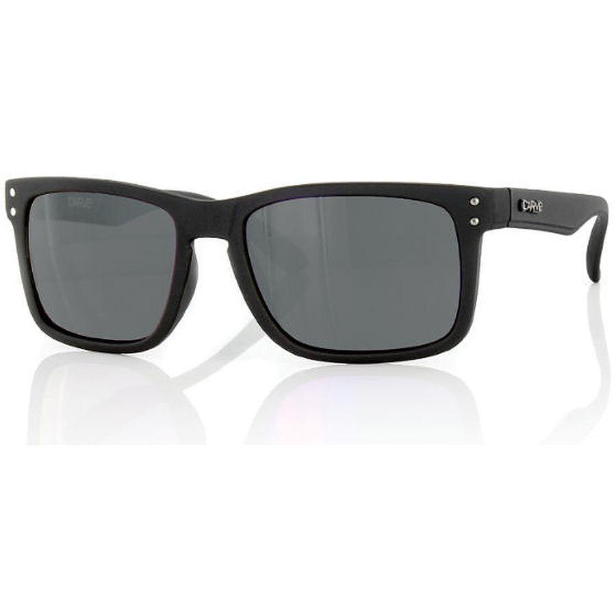 Carve Eyewear Goblin Matt Black Smoke PC Sunglasses