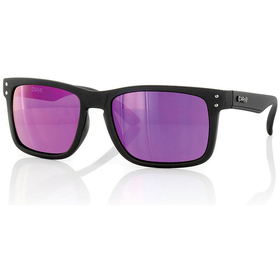 Carve Eyewear Goblin Matte Black Purple Revo Sunglasses