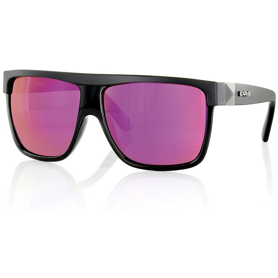 Carve Eyewear Rocker Black Purple Revo Sunglasses