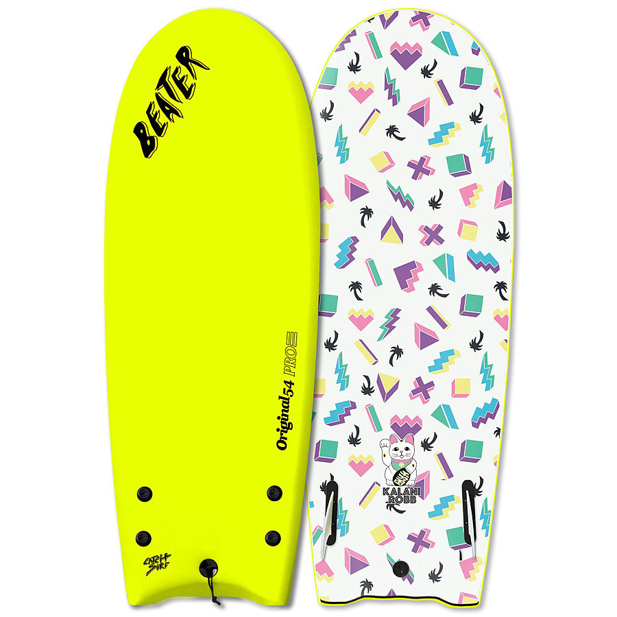 Catch Surf Beater Kalani Robb 2020 54 inches Softboard Electric Lemon