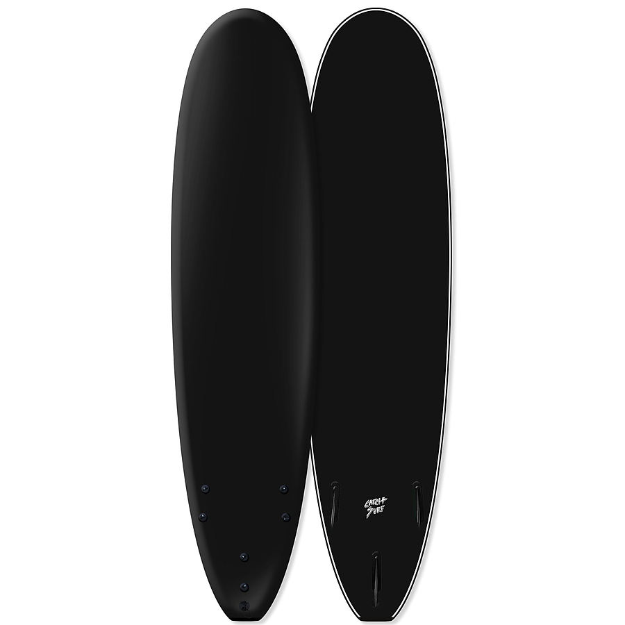 Catch Surf Odysea Log 2020 Blank Series Tri Fin Softboard Black