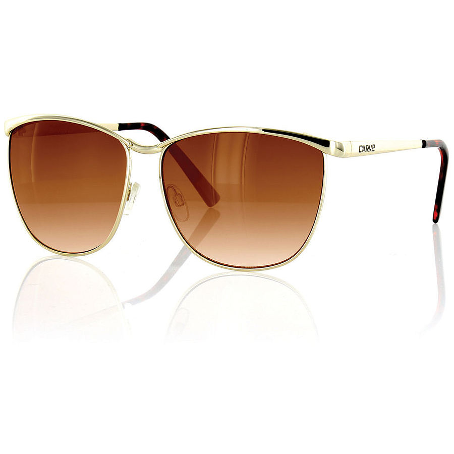 Carve Eyewear The Amanda Gold Sunglasses