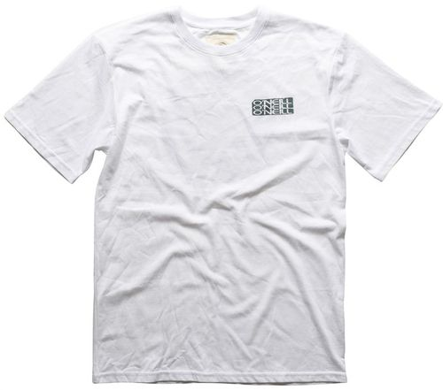 Oneill Front Back Original Mens White Tee