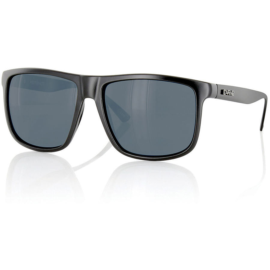 Carve Eyewear Hotshot Matte Black Aluminum Sunglasses