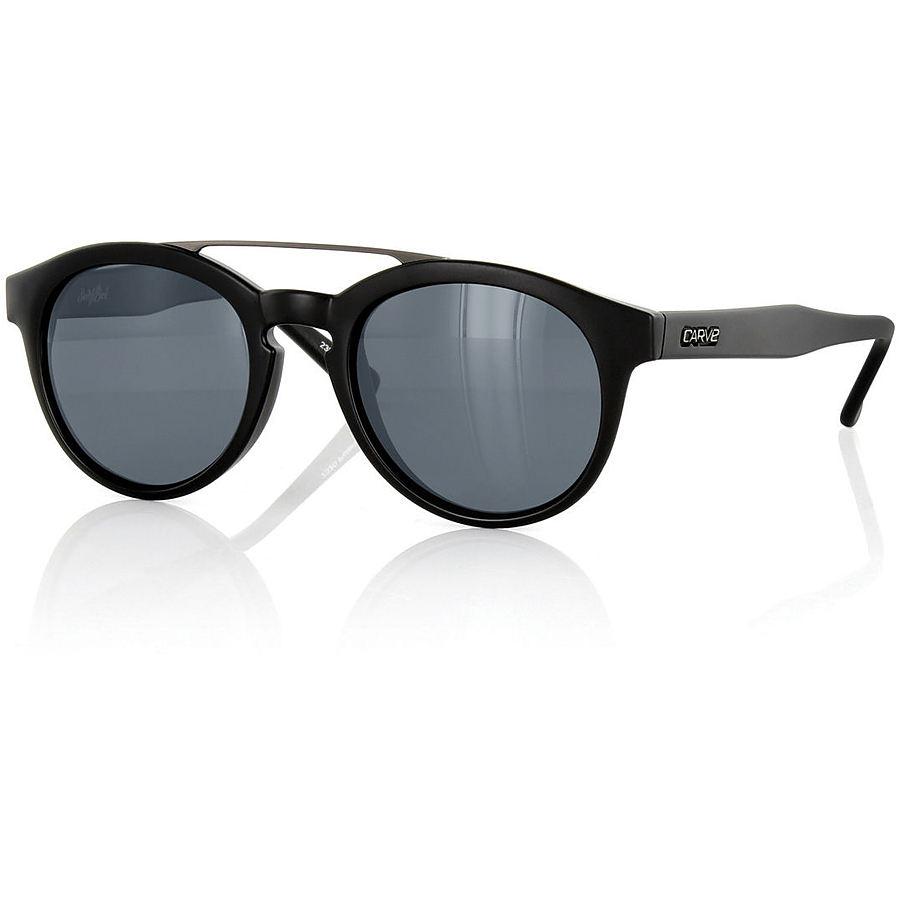 Carve Eyewear Switchback Matte Black Aluminum Polarised Sunglasses