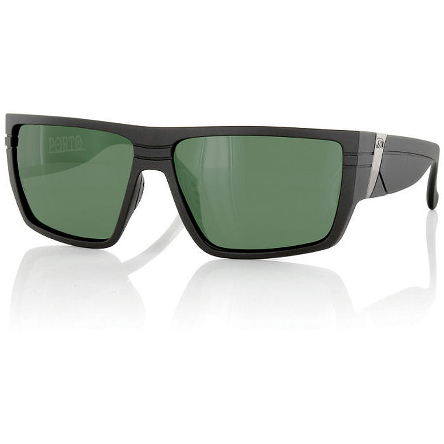 Carve Eyewear Porto Matte Black Polarised Sunglasses