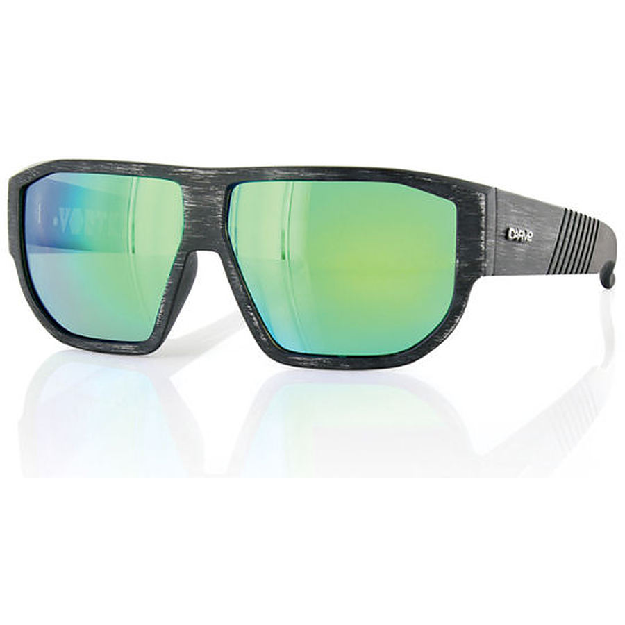 Carve Eyewear Vortex Distressed Black Revo Sunglasses