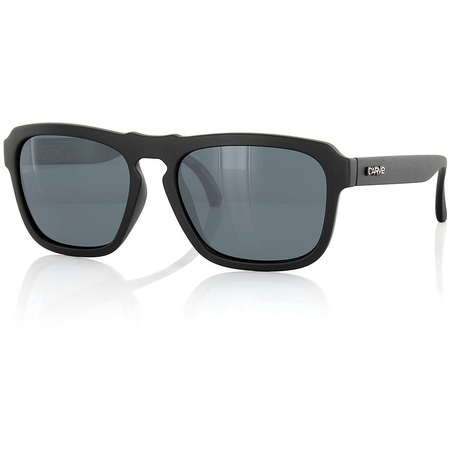 Carve Eyewear Project Matt Black Polarized Sunglasses