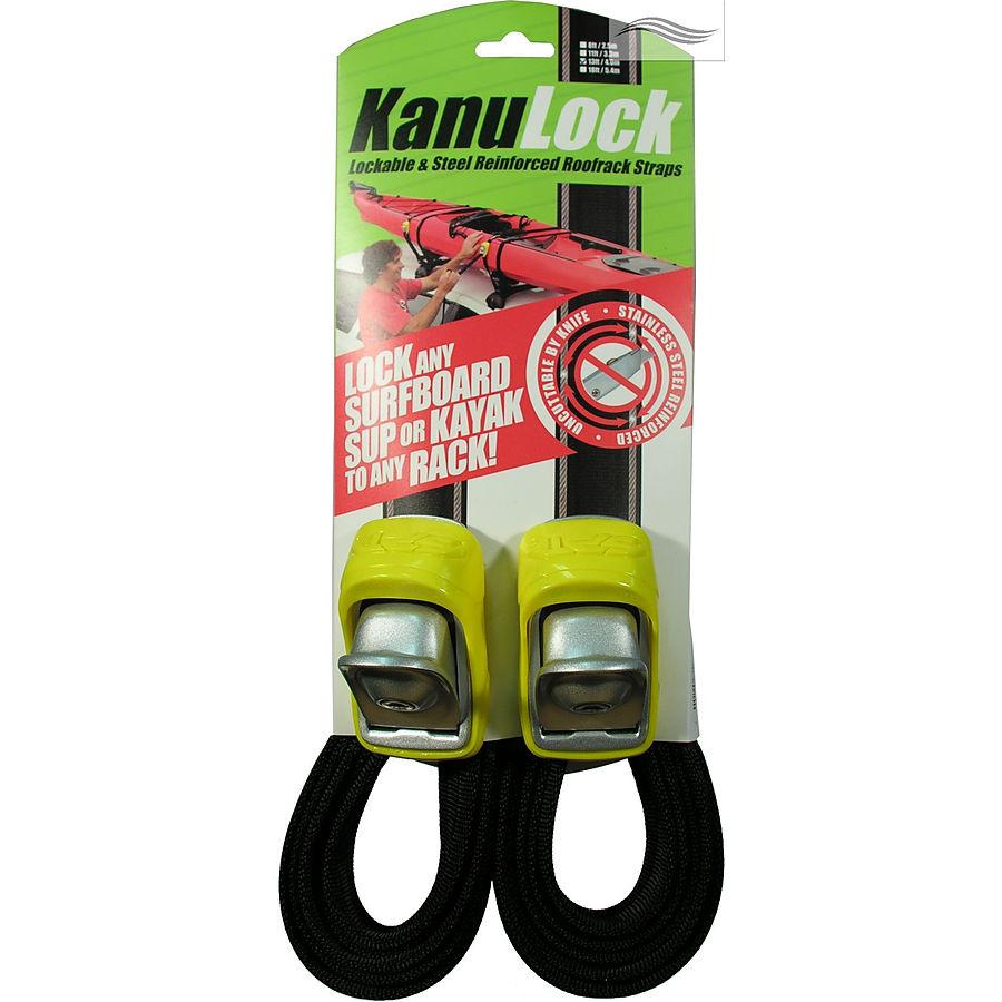 KanuLock Lockable Tie Downs 4.0m